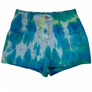 Urban Outfitters BDG tie dye Super High rise short